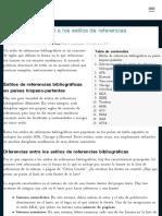 Introducción general a los estilos de referencias bibliográficas