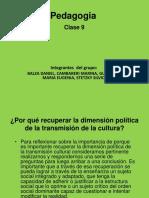Pedagogia Clase N°9