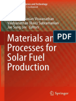 (Nanostructure Science and Technology 174) Balasubramanian Viswanathan, Vaidyanathan (Ravi) Subramanian, Jae Sung Lee (Eds.)-Materials and Processes for Solar Fuel Production-Springer-Verlag New York