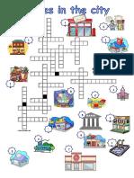 Places Crossword