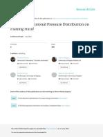 3D Pressure Distribution MARTECH 2016