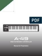 Manual Roland a-49 Pt