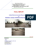 Final Report - Initial Environment Examination of Dhalkebar-Janakpur-Bhitthamod Road Upgrading Project.pdf