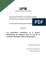Las Situaciones Estrategicas Entre Asociaciones de China Ya La UE