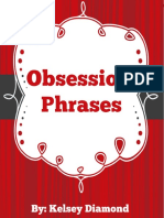Obsession Phrases
