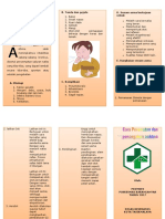 Leaflet Senam Asthma