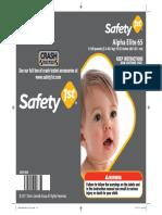 Usermanual Safety1st Alpha Elite 65