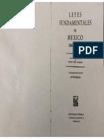 Leyes fundamentales de México