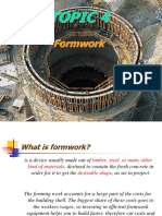 CHAPTER 3 Formwork Part 1
