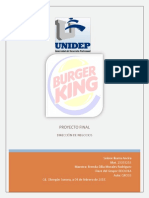 Dirección de Negocios- Analisis Foda Porter y Septe de Burger King