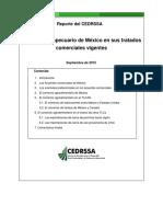 El Sector Agropecuario de México en Sus Tratados