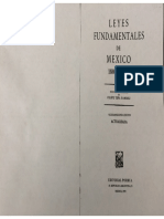 Leyes fundamentales de México, Tena Ramirez
