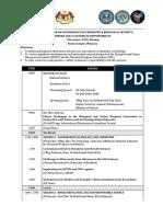 National Seminar Agenda