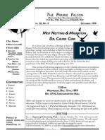 December 1999 Prairie Falcon Northern Flint Hills Audubon Society