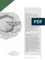 2004-Livros Do Arco Do Cego No Brasil Colonial