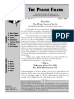 March 2000 Prairie Falcon Northern Flint Hills Audubon Society