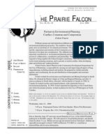 June 2000 Prairie Falcon Northern Flint Hills Audubon Society
