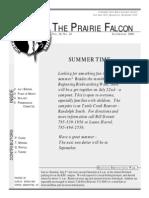 July-August 2000 Prairie Falcon Northern Flint Hills Audubon Society