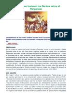 Visiones que tuvieron los Santos sobre el Purgatorio.docx