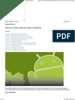 Doce Trucos Únicos Para Android