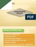 Rencana Kerja Stadion