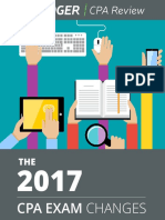 2017 CPA Exam Changes