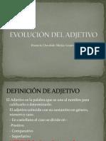 Evolución Del Adjetivo