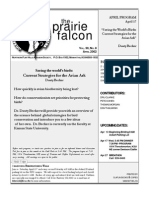 April 2002 Prairie Falcon Northern Flint Hills Audubon Society