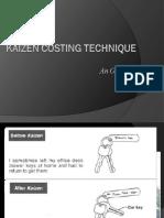 Kaizencostingtechniques