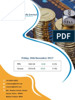 Derivative Premium Daily Journal-10th November 2017, Friday