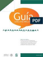 Guía de Lenguaje Incluyente