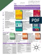 Palgrave Study Skills for Semester 1, 2014