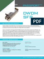 SFP_DWDM Passport Datasheet