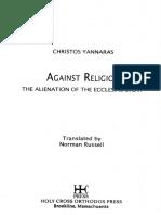 Christos Yannaras - Against Religion