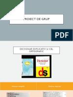 Proiect de Grup