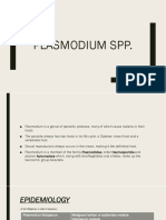 Plasmodium Spp -