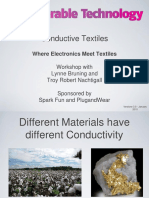 Conductive Textiles