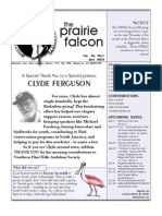 Sept 2005 Prairie Falcon Northern Flint Hills Audubon Society
