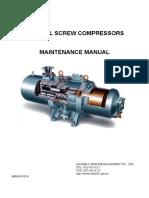 Hanbell Maintenance Manual