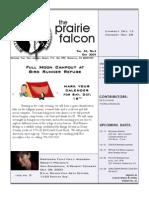 October 2005 Prairie Falcon Northern Flint Hills Audubon Society