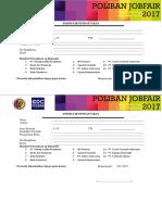 Form Peserta Job Fair 2017