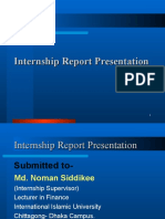 Internship Report on Foreign Exchange Management