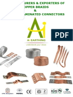 Copper Braids Laminated Connectors