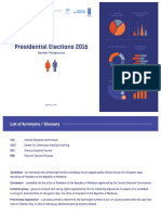 "Infographics  ""2016 Presidential Elections in Moldova. Gender Perspective"""