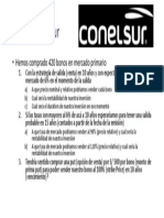 5 Pregunta Bonos Conelsur