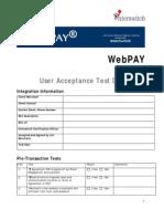 WebPAY UAT Document[5114]