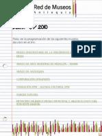Boletín agosto 2010