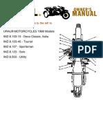 1998 Ural Manual