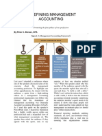 Redefining Management Accounting