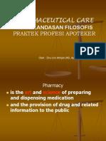 Pharmaceutical Care (S1-2006)